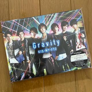 キスマイフットツー(Kis-My-Ft2)の【新品】Kis-My-Ft2 Gravity 初回A(ポップス/ロック(邦楽))