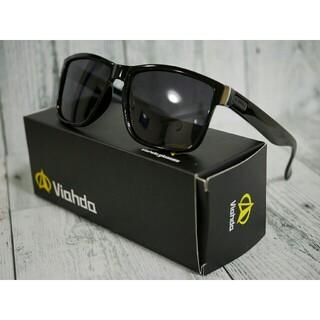 Viahda 偏光サングラス ブラック タレックス・オークリーのホルブルック型(サングラス/メガネ)