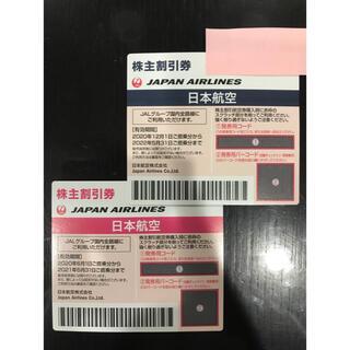 ジャル(ニホンコウクウ)(JAL(日本航空))のJAL 株主優待券 日本航空  2枚(その他)