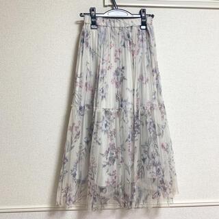 PROPORTION BODY DRESSING - オーガンジースカート