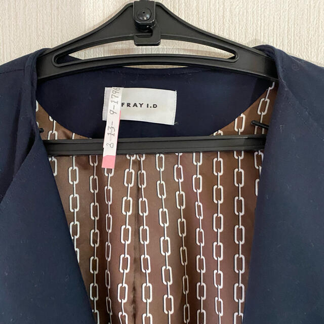 FRAY I.D(フレイアイディー)のFRAY.I.D バックドレープ トレンチコート レディースのジャケット/アウター(トレンチコート)の商品写真