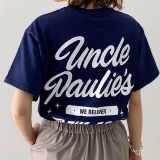 L'Appartement DEUXIEME CLASSE - 新品 UNCLE PAULIE'S  POCKET T-シャツ ネイビー