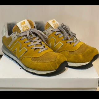 New Balance - ニューバランス  574 イエロー