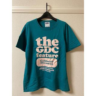 GDC - ジーディーシー GDC Tシャツ カットソー 半袖 プリント クルーネック XL