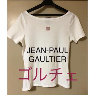 ジャンポールゴルチエ(Jean-Paul GAULTIER)の【訳あり美品】ゴルチェ 綿100% 白シャツM(Tシャツ(半袖/袖なし))