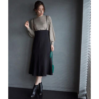 Rope' Picnic - 未使用タグ付💖ロペピクニック ストラップマーメイドスカート黒