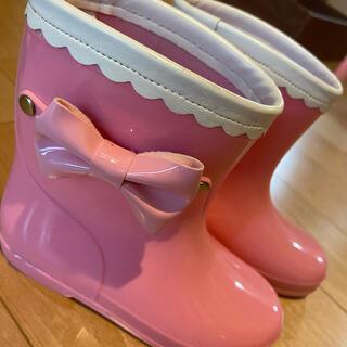 ピンク長靴 17.0(長靴/レインシューズ)