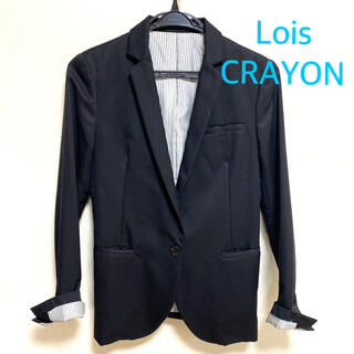 Lois CRAYON - 美品♡Lois CRAYON テーラードジャケット M