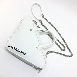 Balenciaga - バレンシアガ 527272 トライアングル XS チェーンバッグ