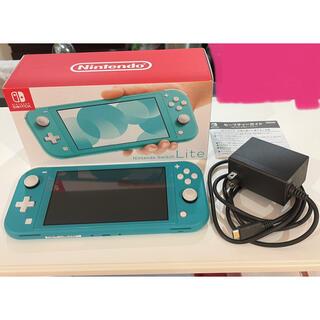 Nintendo Switch LITE ターコイズ 本体 スイッチ