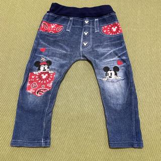 Disney - ディズニー デニム風パンツ ズボン