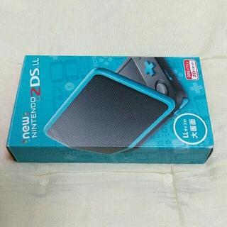 ニンテンドー2DS - new2dsll 本体 ブラックターコイズ