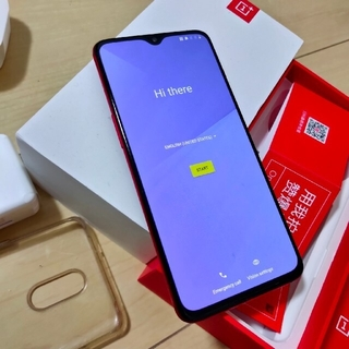 ANDROID - ONEplus7 oxygenos 8gb 256gb 希少な赤色