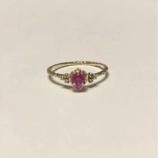 H.P.FRANCE - time jewelry ルビー ダイヤモンド リング h.p.france