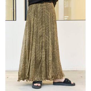 L'Appartement DEUXIEME CLASSE -  【MES DEMOISELLES】Skirt Cezanne ◆グリーン