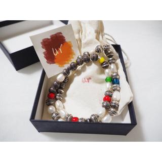 ユナイテッドアローズ(UNITED ARROWS)のur jewelry ユアジュエリー パールネックレス カラーストーン(ネックレス)
