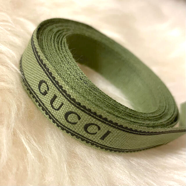 Gucci(グッチ)のGUCCI リボン インテリア/住まい/日用品のオフィス用品(ラッピング/包装)の商品写真