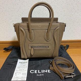 celine - 美品 セリーヌ ラゲージ ナノ