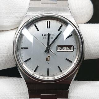 セイコー(SEIKO)のSEIKO ELNIX メンズ 電磁テンプ式 文字盤シルバー(腕時計(アナログ))