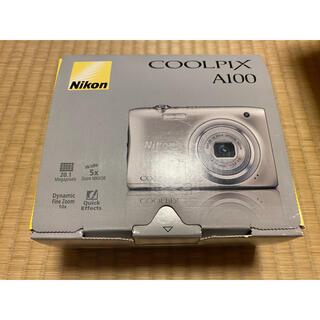 Nikon - 新品 Nikon デジタルカメラ COOLPIX A100 シルバーA100SL