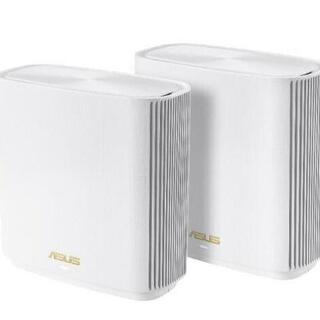 ASUS - ASUS 無線LANルーター ZenWiFi AX (XT8) 2台セット 白
