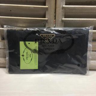 PRADA - PRADA ノベルティ ポーチ♦︎ブラック♦︎黒♦︎新品♦︎プラダ