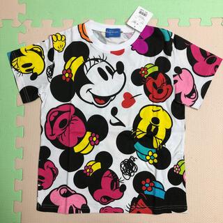 Disney - ディズニー ミニー カラフル Tシャツ 140