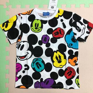 Disney - ディズニー ミッキー Tシャツ カラフル 140