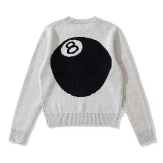 Stussy 8ball mohair sweater