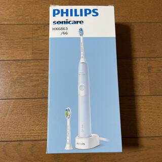 フィリップス(PHILIPS)のSonicare HX6453/68 新品替ブラシ付き!(電動歯ブラシ)