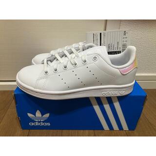 adidas - 新品 22.5cm アディダス スタンスミス ホワイト シルバー 玉虫色