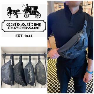 COACH - 極美品★【COACH】LEATHER BELT BAG★レザーベルトバッグ