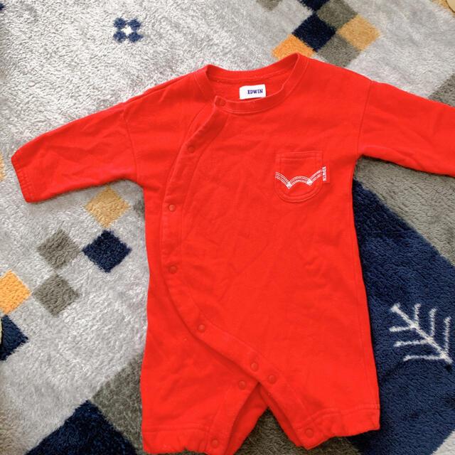 EDWIN(エドウィン)のEDWIN ロンパース キッズ/ベビー/マタニティのベビー服(~85cm)(ロンパース)の商品写真