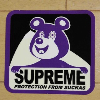 Supreme - SUPREME BEAR STICKER