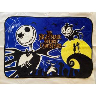 ディズニー(Disney)のディズニー ナイトメアビフォアクリスマス 毛布 膝掛け ブランケット(毛布)