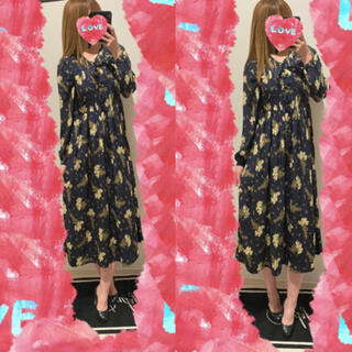 PINK HOUSE - OLIVE HOUSE♡花柄ロングワンピース♡
