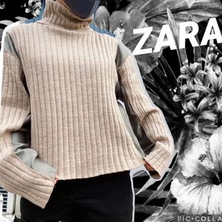 ZARA - ZARA  【ザラ】 コントラストディテール入りセーター