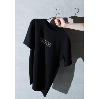 ヨウジヤマモト(Yohji Yamamoto)のyohji yamamoto new era 即完売品 ロゴ 半袖Tシャツ(Tシャツ/カットソー(半袖/袖なし))
