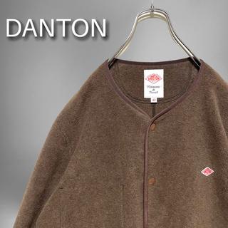 DANTON - DANTON フリースノーカラージャケット