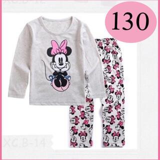 ミニー ちゃん ☆130サイズ ☆長袖パジャマ