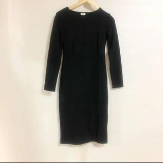 ザラ(ZARA)の大人シンプルロングワンピース 韓国ファッション(ロングワンピース/マキシワンピース)