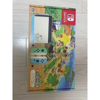 ニンテンドースイッチ(Nintendo Switch)のNintendo switchあつまれどうぶつの森セット(家庭用ゲーム機本体)