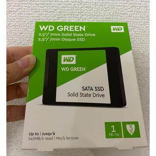 新品未開封 WD GREEN Sata SSD 2.5 1tb