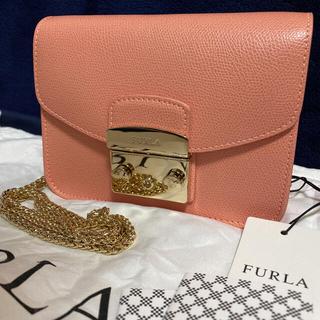 Furla - 【新品】FURLA(フルラ)メトロポリス レザーショルダーバッグ ライトピンク