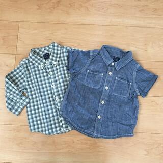 babyGAP - 2枚セット☆baby GAP☆長袖シャツ☆半袖シャツ