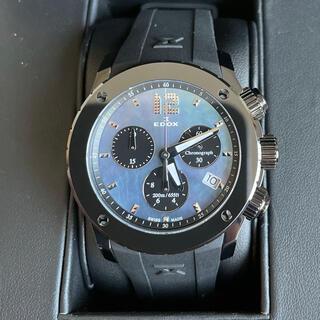 エドックス(EDOX)のエドックスEDOXクロノオフショアレディース10411-37N-NANN新古品(腕時計)