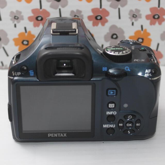 OLYMPUS(オリンパス)の❤️ペンタックス K-x 一眼レフカメラ❤️ スマホ/家電/カメラのカメラ(デジタル一眼)の商品写真