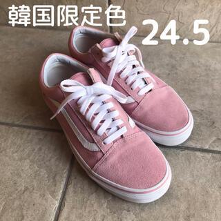 VANS - 【韓国限定】vans オールドスクール ピンク