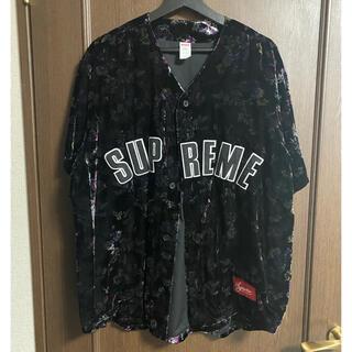Supreme - Supreme 19AW Floral Baseball Jersey