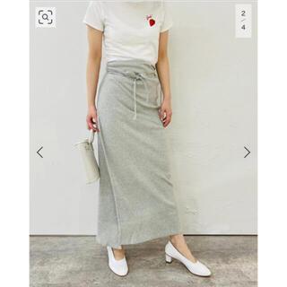 EDIT.FOR LULU - baserange Brig skirt スカート ベースレンジ 松田未来